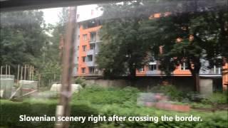 鉄道で国境を越える オーストリア⇒スロヴェニア