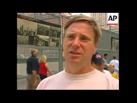 Vox pops from New York on release of 9/11 report