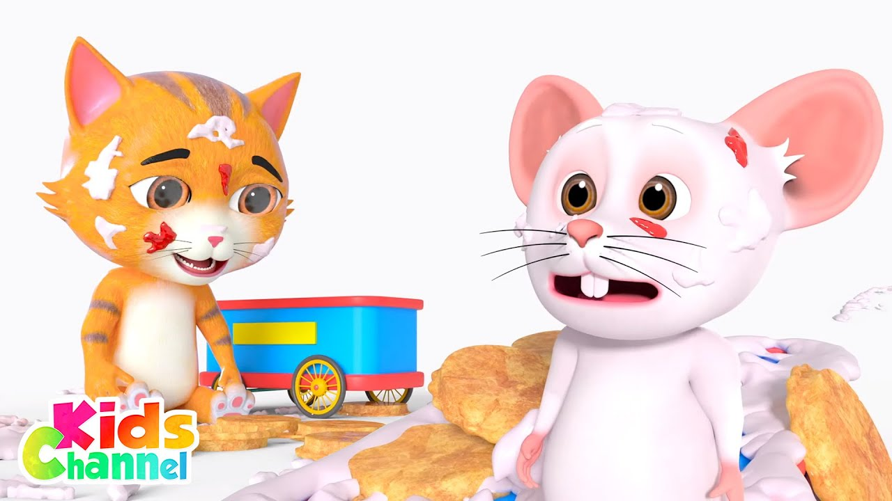 Pie Fight : Paw Pack Cartoon Videos   Stories for Children from Kids Channel