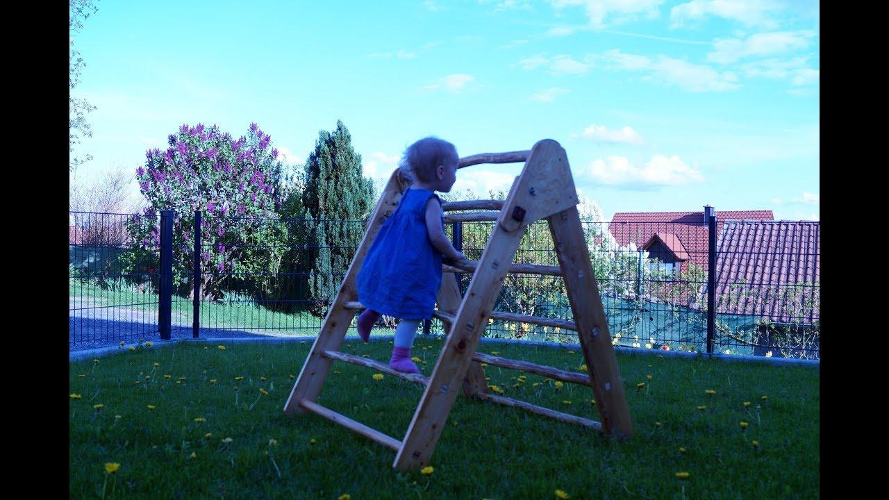 Kletterdreieck Klappbar Selber Bauen : Sprossenbaum affensteg für kletterdreieck etsy