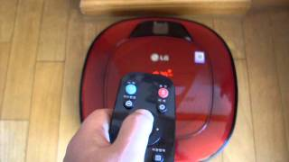 LG ROBOKING Dual Eye 2.0 로봇 청소…