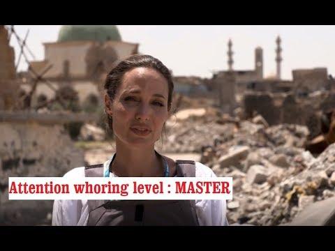 Angelina Jolie visits Mosul | June 2018 | Iraq