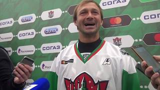 Забил ли Дмитрий Сычев? Нет! Теперь и в хоккее (интервью Сычева)