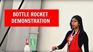 Cool Science Demonstration! Bottle Rockets