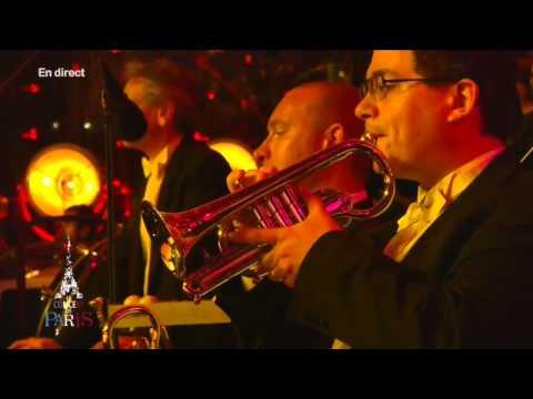 """Elīna Garanča """"Ah, que j'aime les militaires"""" (Offenbach) @ Le Concert de Paris, July 14, 2014"""