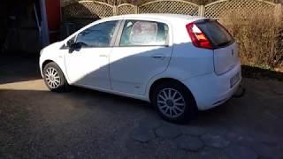 Fiat Punto 2007 - ремонт отопителя салона и промывка ДМРВ (датчик расхода воздуха)