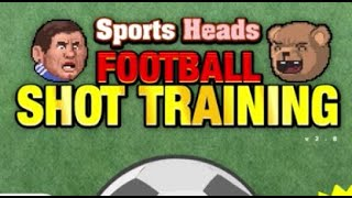 Sports Heads Football : Shot Training Walkthrough