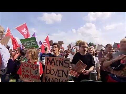 شاهد: الآلاف يتظاهرون في أمستردام احتجاجا على أزمة الإسكان…  - 10:54-2021 / 9 / 14
