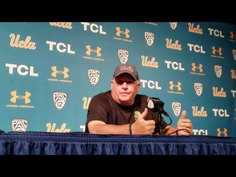 Chip Kelly after Fresno State loss