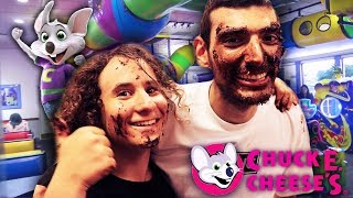 OUR FIRST ANNIVERSARY AT CHUCK E. CHEESE! (Ft. Ice Poseidon)