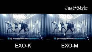 Repeat youtube video EXO Overdose MV Teaser EXO-K V.S EXO-M