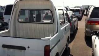 1995 Daihatsu HiJet deki van