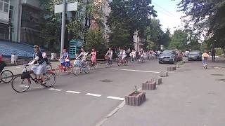 ретро  вело-тур субботнего дня