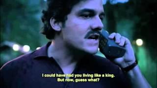 """NARCOS: Pablo Escobar """"a la guerra pues"""""""