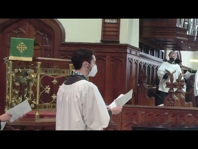 The Sixteenth Sunday after Pentecost September 12, 2021