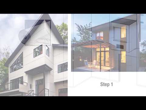 How to Install Reveal® Panel System by James Hardie - YouTube