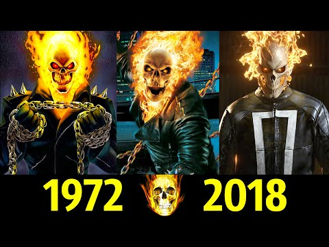 💀 Призрачный Гонщик - Эволюция (1972 - 2018) ! Все Появления 🔥!