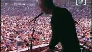 coldplay performing yellow and in my place live