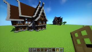MagicDoor ViYoutubecom - Minecraft einfaches mittelalter haus bauen