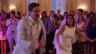 bride and groom first dance - new orleans
