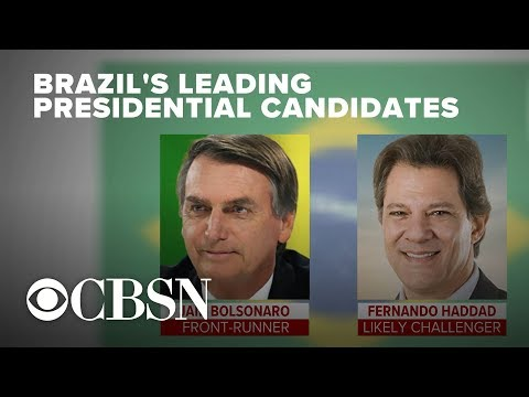 Brazil poised to elect a new president