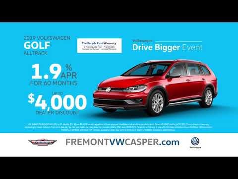 Go Big at Fremont Volkswagen