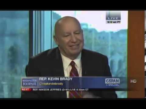 Rep. Kevin Brady on CSpan's Washington Journal on Gun Control and the President's Budget