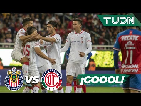 ¡Goool de Toluca! se empata el partido | Chivas 1 - 1 Toluca | Liga Mx - CL 2020 J-3 | TUDN