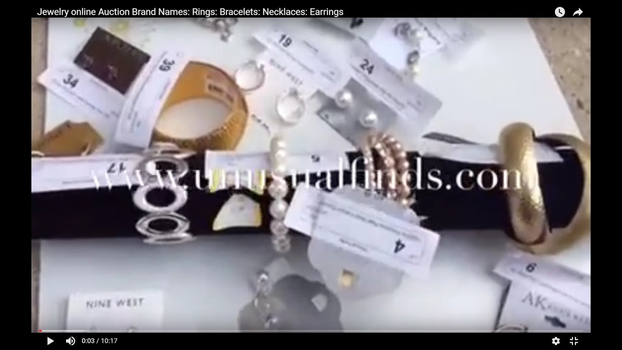 Jewelry online Auction-jewelry-Brand Names-Rings-Bracelets ...