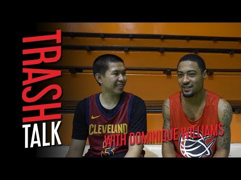 Trash Talk Episode 19: Dominique Williams on Playing For Stapac & Relationship With Isaiah Thomas!