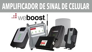 WEBOOST AMPLIFICA SINAL DE CELULAR NO CARRO E EM CASA #CES2016