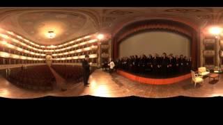 Opera Choir Rehearsal in Modena, Italy in 360º