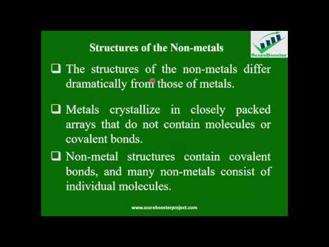Students ScoreBooster in Chemistry- Introduction to Non-metals