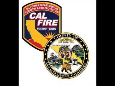 1980s CDF/SLO County Fire Vegetation Fire Dispatch