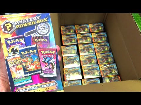 OLD POKEMON MYSTERY POWER BOXES ARE BACK!