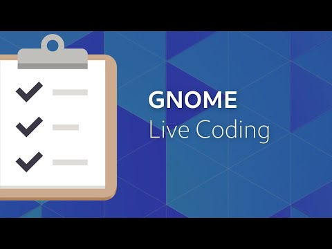 GNOME Live Coding | GNOME To Do (EN)