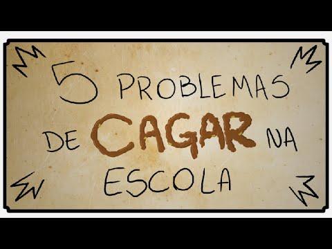 5 PROBLEMAS DE CAGAR NA ESCOLA