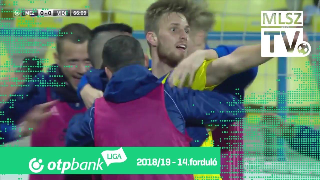 Koszta Márk gólja a Mezőkövesd Zsóry FC - Mol Vidi FC mérkőzésen