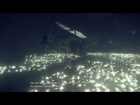 NieR:Automata Secret scene outside Kaine's hut