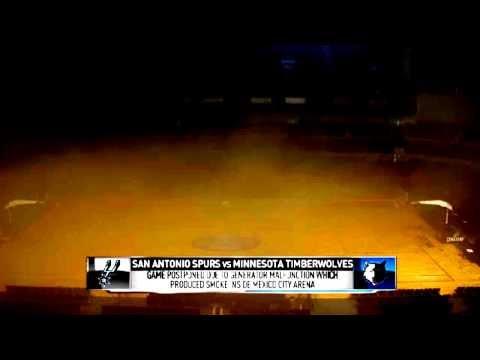 Spurs Timberwolves Game Postponed | Spurs vs Timberwolves | December 4, 2013 | NBA 2013-14