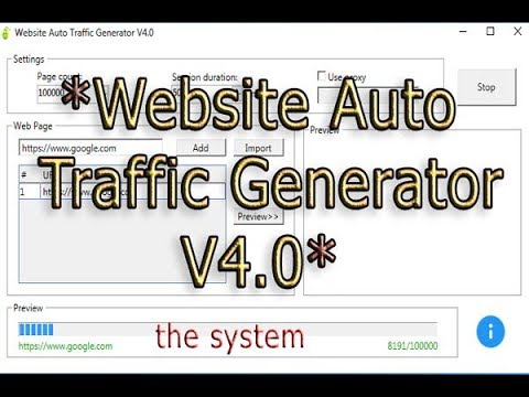 How  to download Website Auto Traffic Generator V4.0 pro for free
