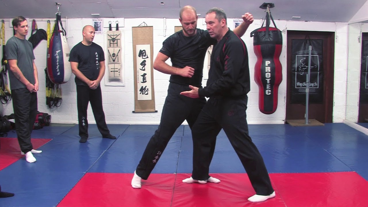 Groin Kick Interception