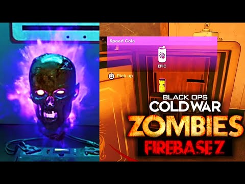 Firebase Z Sergei's Head Free Perk Easter Egg Guide! All Serum Locations & Safe (Cold War Zombies)