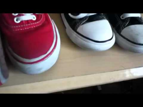 How to clean vans and converse
