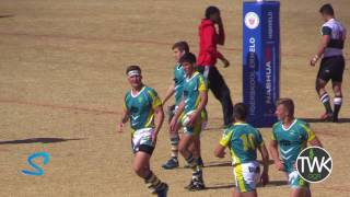 School Rugby Action - 1st Ermelo vs Secunda 29-07-17