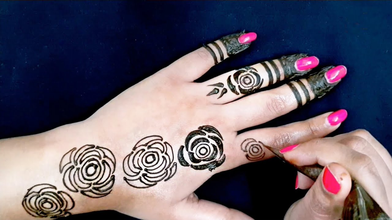 gulf rose mehndi design 2019 latest images