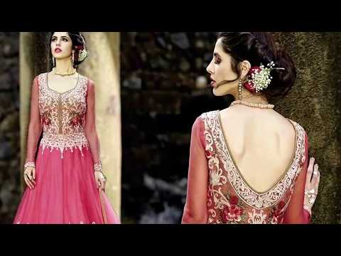 2500a169a195c Anarkali Suits  Latest Designer Floor Length Anarkali Gown style Dresses  Beautiful Designs of 2018