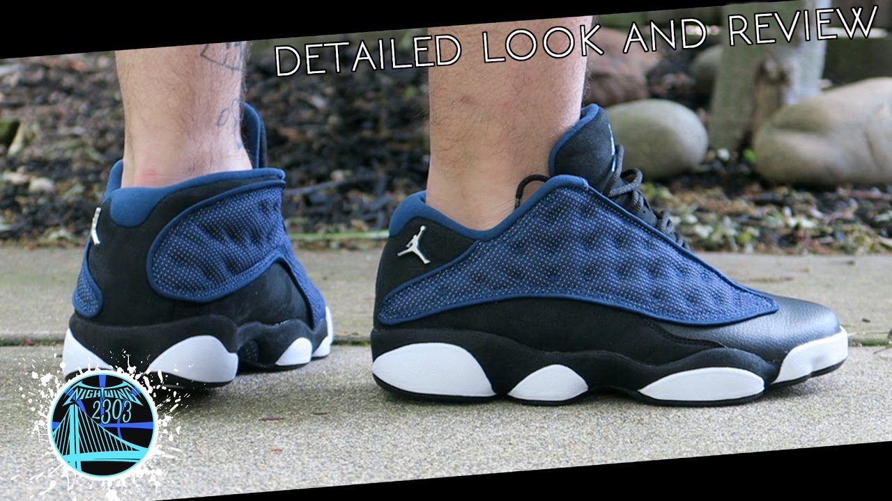 huge selection of 56473 3b844 Air Jordan 13 Low 'Brave Blue' | Detailed Look and Review
