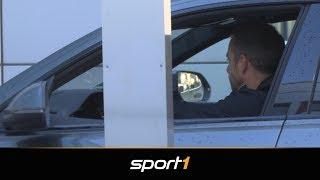 Hier kommt der neue Bayern-Trainer Hansi Flick an | SPORT1