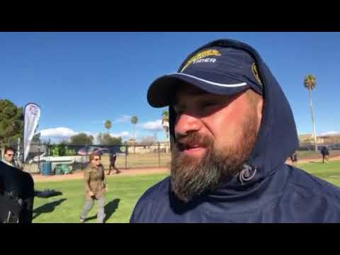 Adrian Ferris CCIG Tiger Rugby Head Coach Interview At Las Vegas Sevens 2018